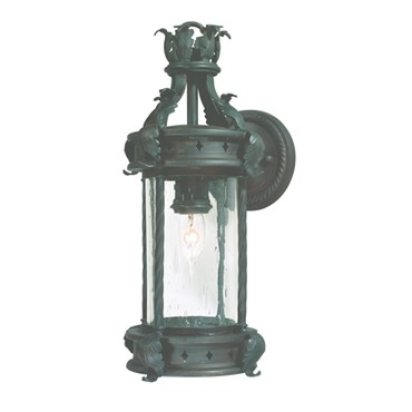 Los Feliz Small Outdoor Wall Sconce