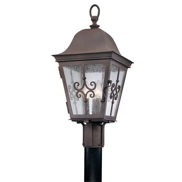 Markham Outdoor Post Light by Troy Lighting | P2355WB