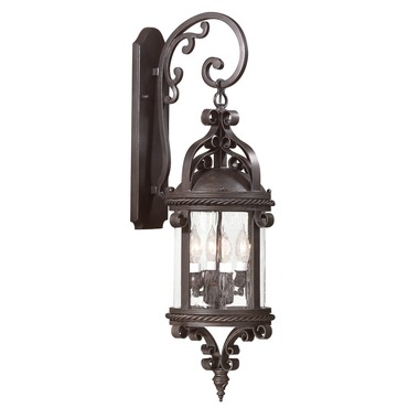 Pamplona Outdoor Wall Sconce by Troy Lighting | BCD9122OBZ