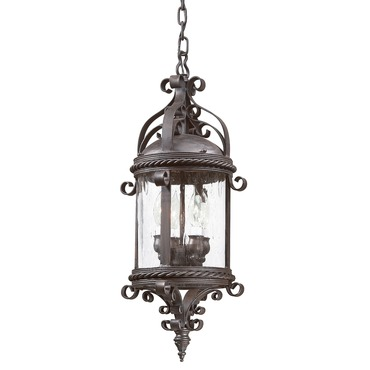 Pamplona Outdoor Pendant by Troy Lighting   FCD9124OBZ