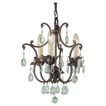 Maison De Ville 3 Light Duo-Mount Chandelier