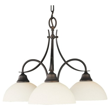 Boulevard 3 Light Downlight Chandelier