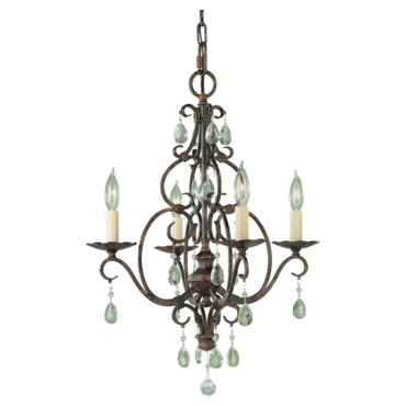 Chateau Chandelier by Feiss | F1904/4MBZ