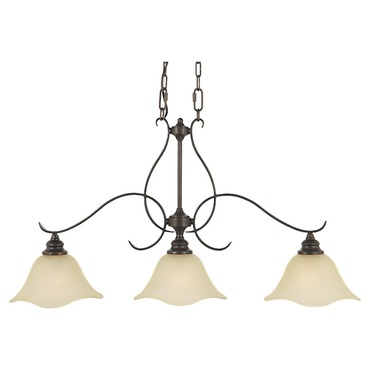 Morningside 3 Light Island Pendant