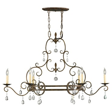 Chateau 6 Light Chandelier