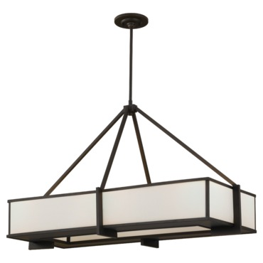 Stelle Linear Suspension by Feiss | F2400/6ORB