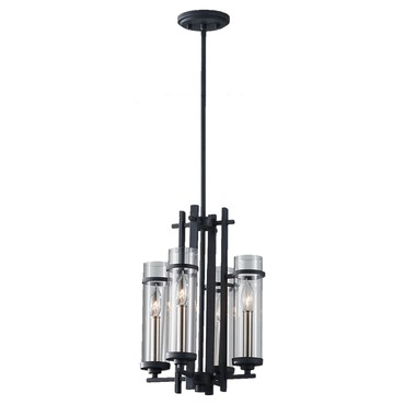 Ethan Chandelier by Feiss | F2627/4AF/BS