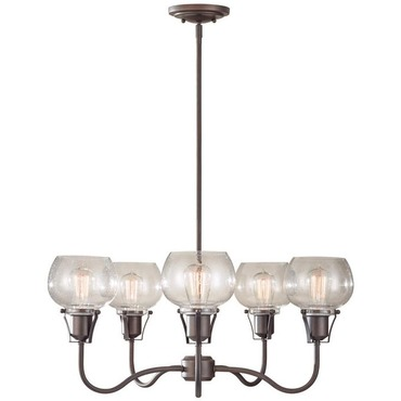 Urban Renewal F2824 Chandelier by Feiss | F2824/5RI