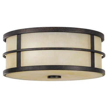 Fusion Ceiling Light Fixture by Feiss | FM256GBZ