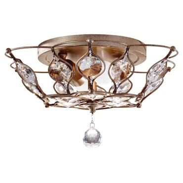 Leila Ceiling Light Fixture by Feiss | FM374BUS