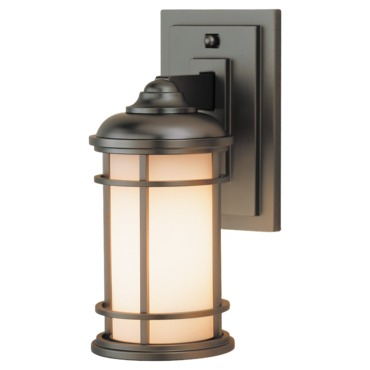 Lighthouse OL2200 Outdoor Wall Sconce by Feiss | OL2200BB