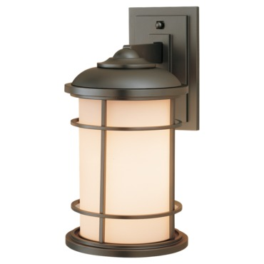 Lighthouse Outdoor Wall Light by Feiss | OL2201BB