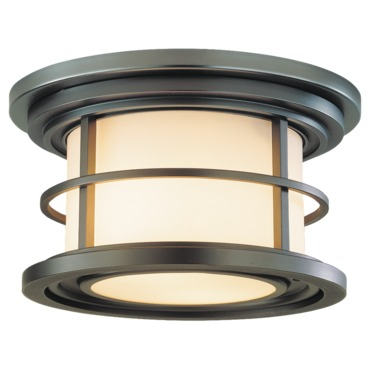 Lighthouse Outdoor Flush Mount by Feiss | OL2213BB