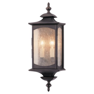 Market Square OL2601 Outdoor Wall Sconce by Feiss | OL2601ORB