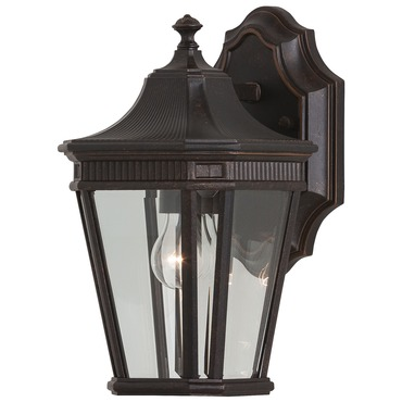 Cotswold Lane OL5400 Outdoor Wall Light by Feiss | OL5400GBZ