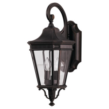 Cotswold Lane Outdoor Wall Sconce by Feiss | OL5401GBZ