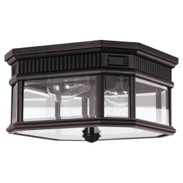 Cotswold Lane Outdoor Ceiling Light Fixture by Feiss   OL5413GBZ