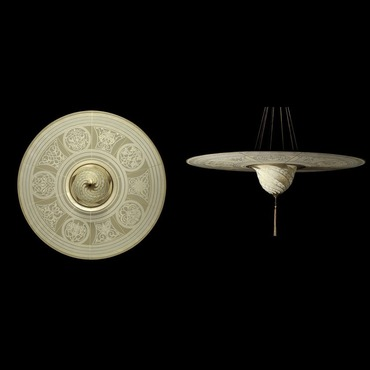 Samarkanda Silk with Disc Suspension by Venetia Studium | LC-124 SD-1-IV-DC