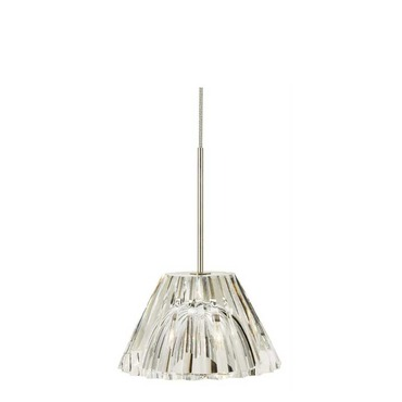 EZ Jack LED Ridge Crystal Pendant