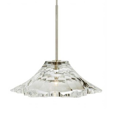 EZ Jack LED Peak Crystal Pendant by Stone Lighting | PD038CRSNL2J