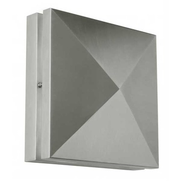 Quadro Pyramid Outdoor Wall Sconce
