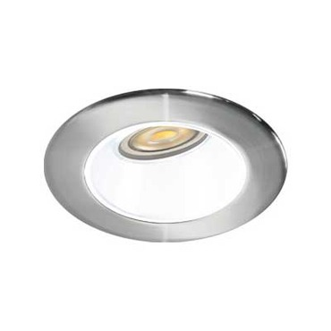 4 Round LED Trim 10W 2700K WFL