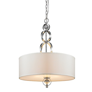 Cerchi Pendant  by Golden Lighting | 1030-3P CH