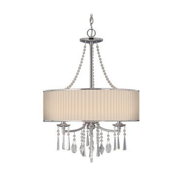 Echelon 3 Light Chandelier by Golden Lighting | 8981-3P BRI
