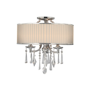 Echelon Semi Flush by Golden Lighting | 8981-SF BRI