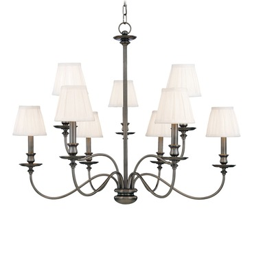 Menlo Park Chandelier by Hudson Valley Lighting | 4039-AN