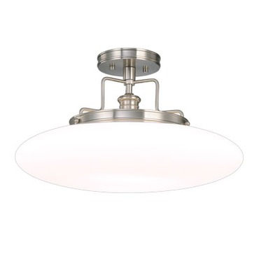 Beacon Semi Flush Mount by Hudson Valley Lighting | 4208-PN