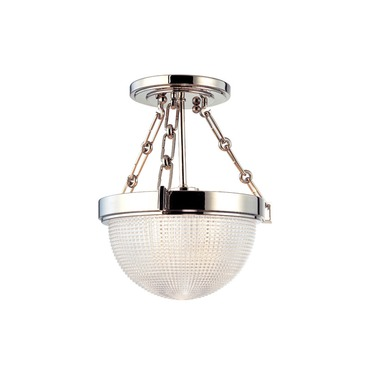 Winfield Semi Flush Ceiling Light by Hudson Valley Lighting | 4409-PN