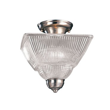Majestic Square Semi Flush Mount by Hudson Valley Lighting | 4532-PN