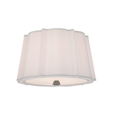 Humphrey Semi Flush Ceiling Light by Hudson Valley Lighting | 4817-PN