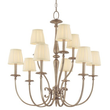 Jefferson Chandelier by Hudson Valley Lighting | 5219-AN