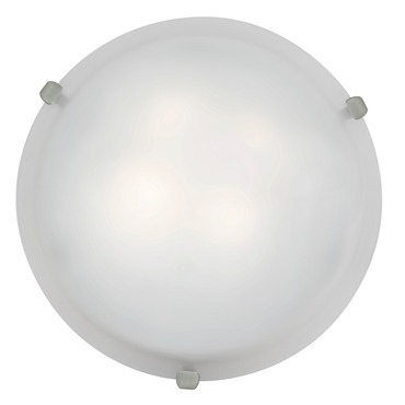 Mona 16 Ceiling Flush Mount by Access | 23020-BS/WH