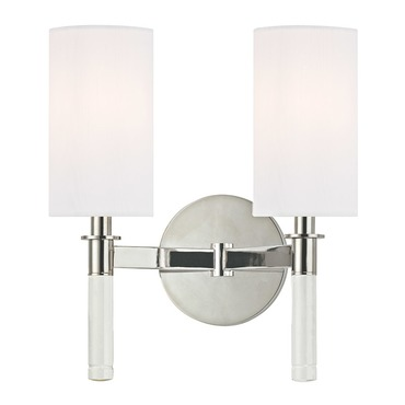 Wylie Wall Sconce by Hudson Valley Lighting | 6312-PN