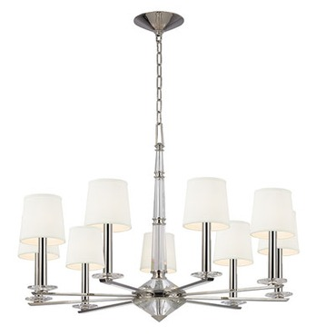 Porter Chandelier by Hudson Valley Lighting | 6619-PN
