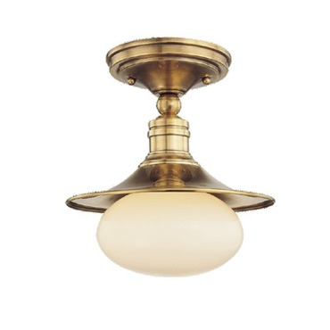Lawton Semi Flush Mount by Hudson Valley Lighting | 6711-AGB