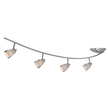 Comet Curved Semi Flush Ceiling Light by Access | 52035-BS/OPL