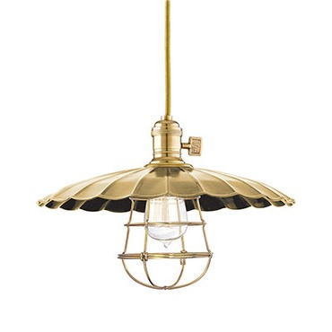 Heirloom ML3-WG Pendant by Hudson Valley Lighting | 8001-AGB-ML3-WG
