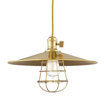 Heirloom MM1-WG Pendant by Hudson Valley Lighting | 8001-AGB-MM1-WG