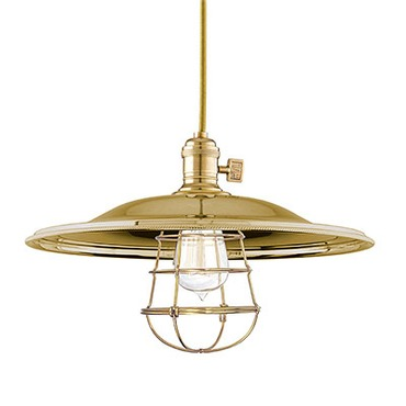 Heirloom MM2-WG Pendant by Hudson Valley Lighting | 8001-AGB-MM2-WG