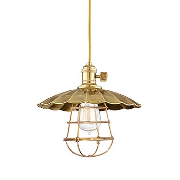 Heirloom MS2-WG Pendant by Hudson Valley Lighting | 8001-AGB-MS2-WG
