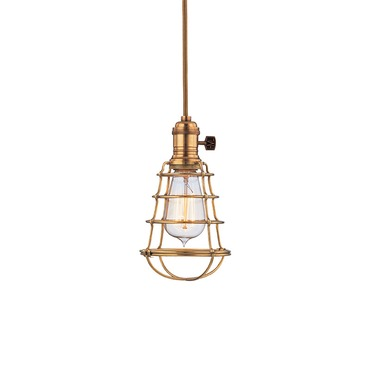 Heirloom WG Pendant by Hudson Valley Lighting | 8001-AGB-WG