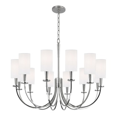 Mason Chandelier by Hudson Valley Lighting | 8032-PN