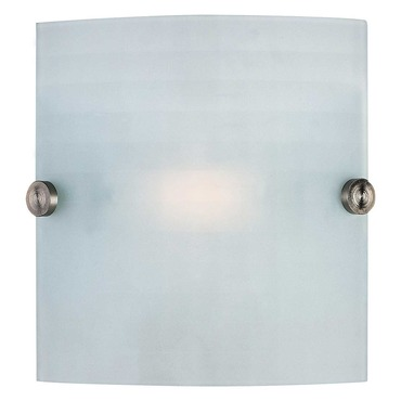 Radon Square Wall Sconce by Access | 62054-BS