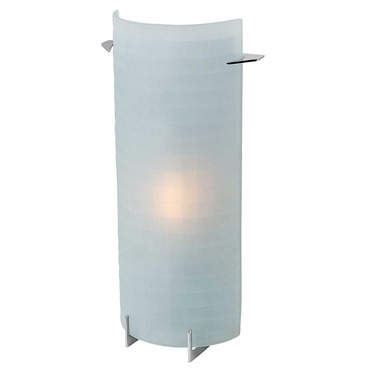 Oxygen Vertical Wall Light by Access | 62060-BS/CKF