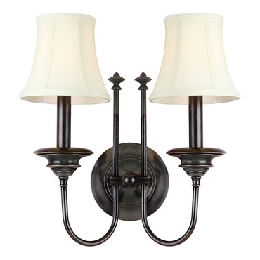 Yorktown Wall Sconce by Hudson Valley Lighting | 8712-OB