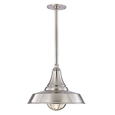 Lansing Solid Pendant by Hudson Valley Lighting | 9118-SN